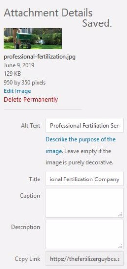 Adding an Image Title Tag to Help Ranking