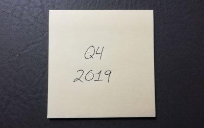 Notes at 2:00 a.m. | Q4, 2019