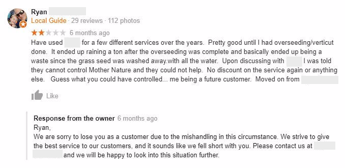 How to Handle a Negative Review from a Google Local Guide
